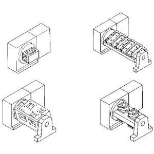 Примеры обрабатываемых деталей на поворотном столе серии NCFR
