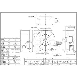 Стол CNC-1500HV, схема