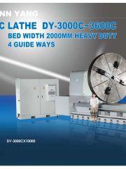 Обложка Токарные станки серии DY-3000~3600C