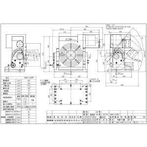 Поворотный стол CNCMT-400, схема