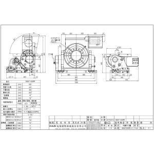 Поворотный стол CNCMT-630, схема