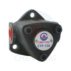 Циркуляционный насос CYP-13A (производительность 6,5-7,9 л/мин, макс. давление 5 кг/см2). Дополнительно может быть оснащен регулятором давления CYP-AV (диапазон регулирования 0-5 кг/см2). Насос может быть поставлен в сборе с двигателем мощностью 180Вт.