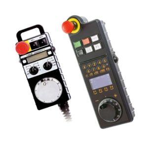 Выносные станочные пульты с маховиком и кнопками