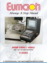 Обложка 5-осевые обрабатывающие центры серии HSM-U