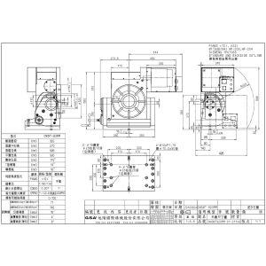 Поворотный стол CNCMT-320, схема