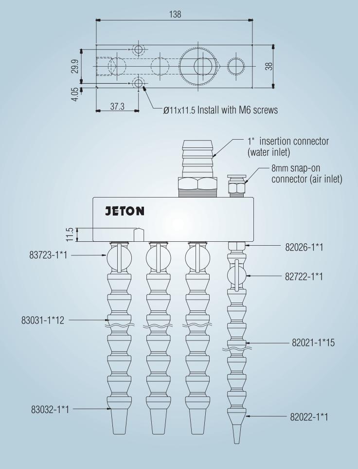 Системы подачи СОЖ JTM-01