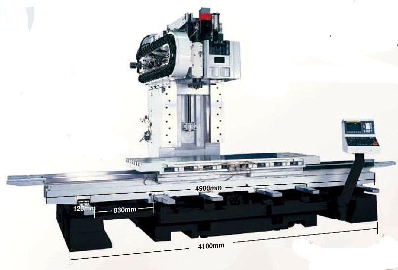Вертикальный фрезерный обрабатывающий центр VMC-2600, фото