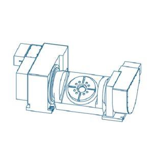 Наклонно-поворотные столы для фрезерных станков