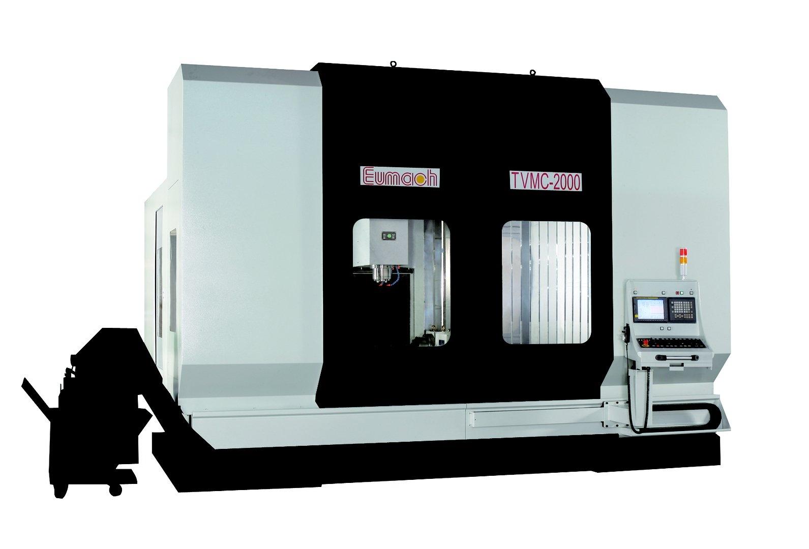 Вертикальный фрезерный обрабатывающий центр TVMC-2000, фото