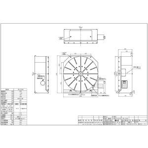 Стол CNC-2000HV, схема