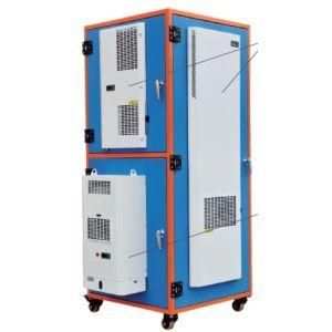 Пример монтажа кондиционера в электрошкаф