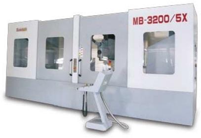 5-осевой обрабатывающий станок MB-5X, фото