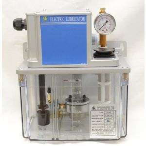 Cтанция смазки CEN01 (управление от ЧПУ, датчик уровня масла, реле давление настроено на 1 кг/см2, макс. производительность 130 см3/мин, макс. давление 15 кг/см2, объем бака от 2 до 8л, напряжение питания 110 или 220В).