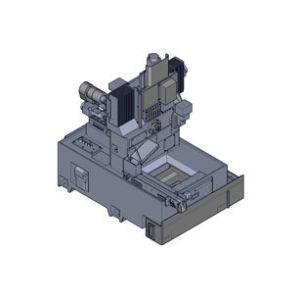 Станок HCS (Швейцарского типа), устройство