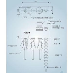 Системы подачи СОЖ JTM-02