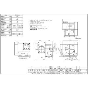 Стол CNC-200RB, схема