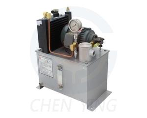 Циркуляционные станции смазки CLST (макс. производительность 7,9 л/мин, макс. давление 5 кг/см2, радиатор охлаждения масла, датчик уровня, клапан регулировки давления, бак 20-204л)